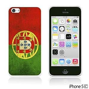 OnlineBestDigitalTM - Flag Pattern Hard Back Case for Apple iPhone 5C - Portugal