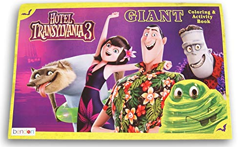 Hotel Transylvania 3 Giant Coloring and Activity Book - 10.5 x 16 Inches ()