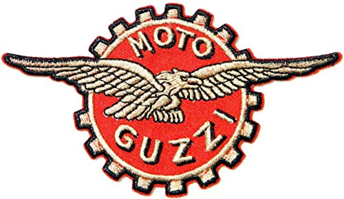 Moto Guzzi Biker Motorcycles Shields Badge Patch Iron on Sewing Embroidered Applique Logo Badge Sign Embelm Craft Gift -