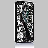 Just Do It Nike Aztec Geometric 05 for Iphone 4/4s 5 5c 6 6plus Case (iphone 6plus black)