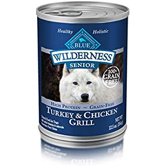 Blue Buffalo Wilderness High Protein Wet Senior Dog Food (our Low Residue Dog Food)