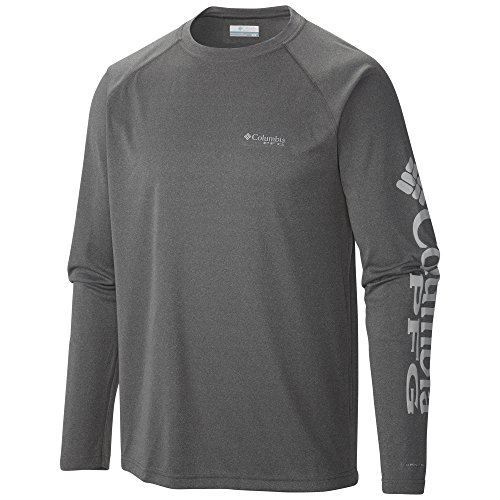 Men's UPF 50 Sun Protection Shirt made our list of camping safety tips for families who RV and tent camp