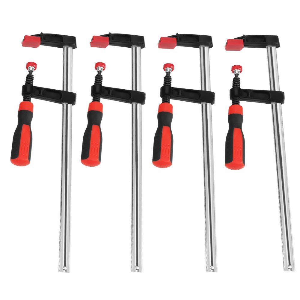 F Clamps Bar Clamp Set Steel Material 3 Sizes Die-Cast Screw Clamp