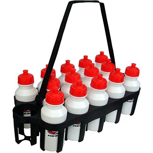 Hespeler Team Water Bottle Set with Carrier