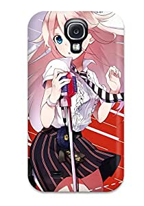 Perfect Fit HGSuwNO13234ACAOY Vocaloid Animal Cat Ia Koyubi Microphone Tie Case For Galaxy - S4