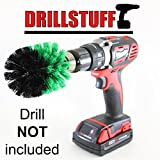 Kitchen Sink, Pan, Pot, and Cookware Cleaning Brush Attachment for Drill (Full Size)