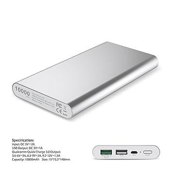 KINGCOO Quick Charge 3.0 Cargador Batería Externa, Portátil ...