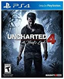 Uncharted 4: A Thief's End (Sony PlayStation 4, 2016) *New&Sealed*