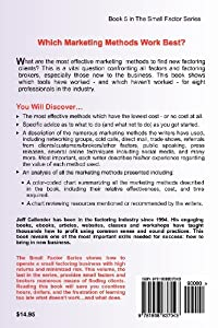 Marketing Methods for Small Factors & Brokers: Tools from the Trenches to Make Your Factoring Business Thrive! (Volume 5) by Dash Point Publishing, Incorporated