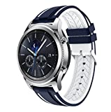 Software : For Samsung Gear S3 Frontier,Outsta New Fashion Sports Silicone Bracelet Strap Band (G)