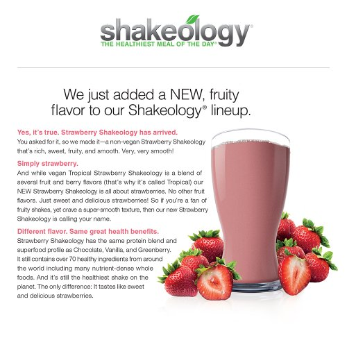 Shakeology Strawberry 30 Servings (bulk) in a BAG by Shakeology (Image #1)