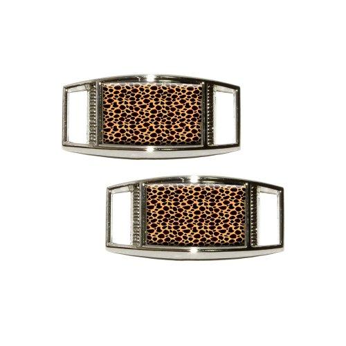 Cheetah Sneaker Shoelace Rectangular Decoration