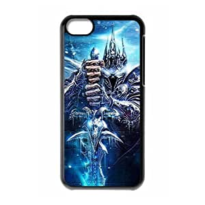 For World of Warcraft Custom Design Apple Iphone 5c Hard Case Cover phone Cases Covers