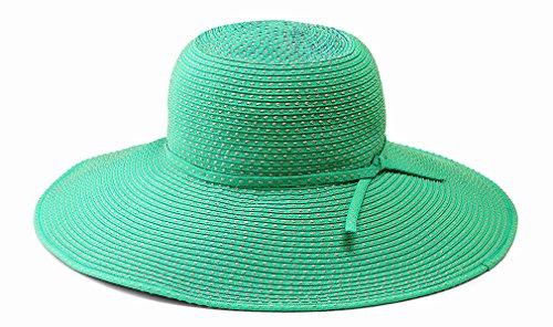 San Diego Hat Company Women's Ribbon Braid Hat O/S Blue