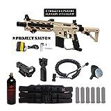 response trigger 98 custom - Tippmann U.S. Army Project Salvo w/ E-Grip Tactical Red Dot Paintball Gun Package - Tan