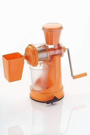 Manual exprimidor de cítricos exprimidor mano manivela hogar saludable zumo de naranja natural eléctrica: Amazon.es: Hogar