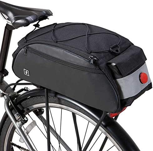 COTEetCI Waterproof Bike Bag Bicycle Saddle Bag Cycling Mountain Back Seat Rear Rack Trunk Bags Single Shoulder Bag