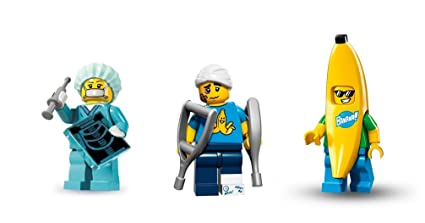 Amazon.com: LEGO Banana Guy, Clumsy Guy, and Surgeon ...