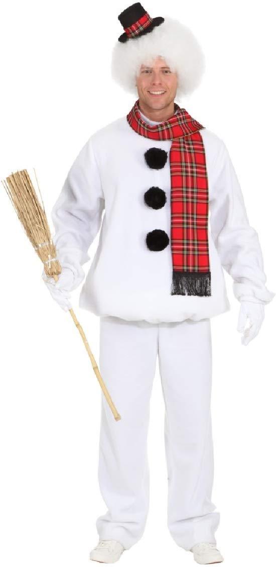 Fancy Me Pärchen-Kostüm für Damen und Herren, niedlicher niedlicher niedlicher Schneemann 550053