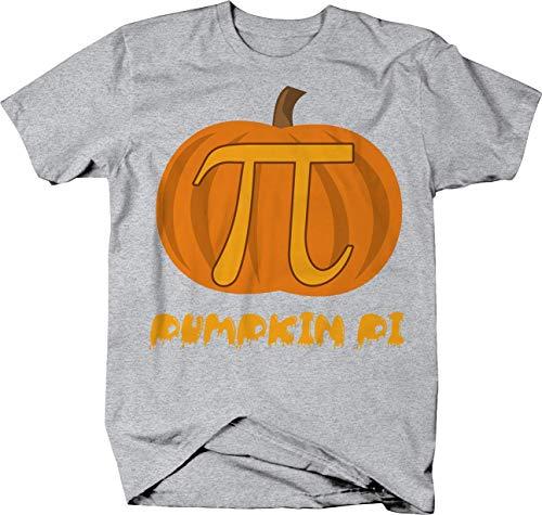 Pumpkin Pi 3.14 Math Halloween Joke T-Shirt - Large ()