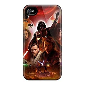 Brand New 4/4s Defender Case For Iphone (star Wars Poster)