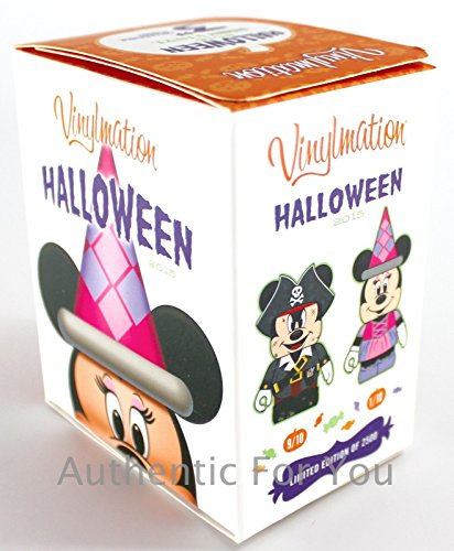 Disney Parks 2015 Mickey Minnie Halloween Eachez Sealed Mystery Blind Box Limited Edition 2500 ()