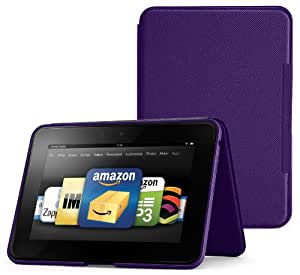 "Amazon Kindle Fire HD 8.9"" Standing Leather Case, Royal Purple (will not fit HDX models)"