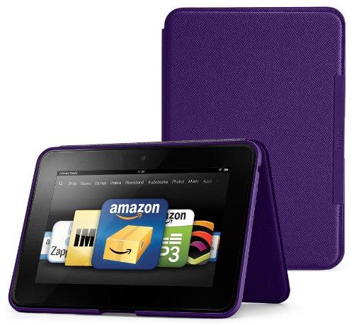 Amazon Kindle Standing Leather Purple