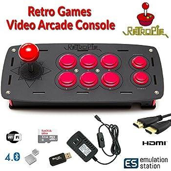 Raspberry pi 3 based arcade retro gaming emulation console 32gb edition retropie - Retro game emulator console ...