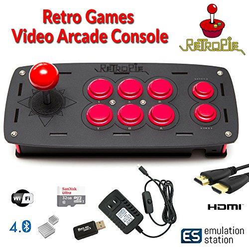 RetroBox - Raspberry Pi 3 Based Arcade Retro Gaming Emulation Console - 32GB Edition, RetroPie by Crisp Concept Ltd. (Image #7)