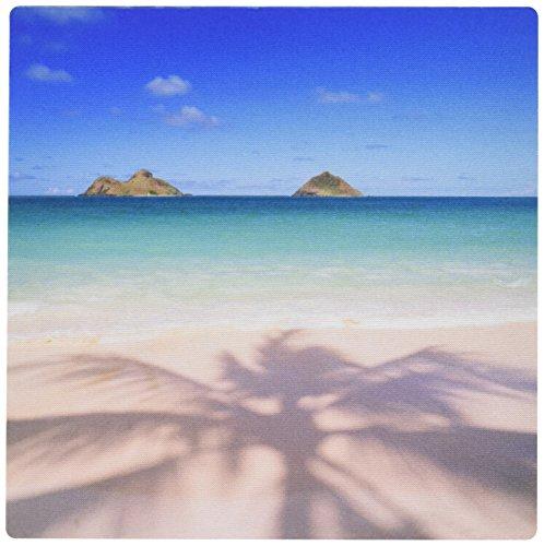 3dRose LLC 8 x 8 x 0.25 Inches Mouse Pad, Lanikai Beach Kailua Oahu Hawaii (mp_89735_1)