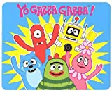 Yo Gabba Gabba Raise the Roof Micro Raschel Plush Throw