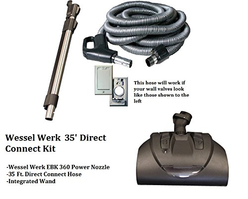 Wessel Werk Central Vacuum Kit (35' Direct Connect Kit)