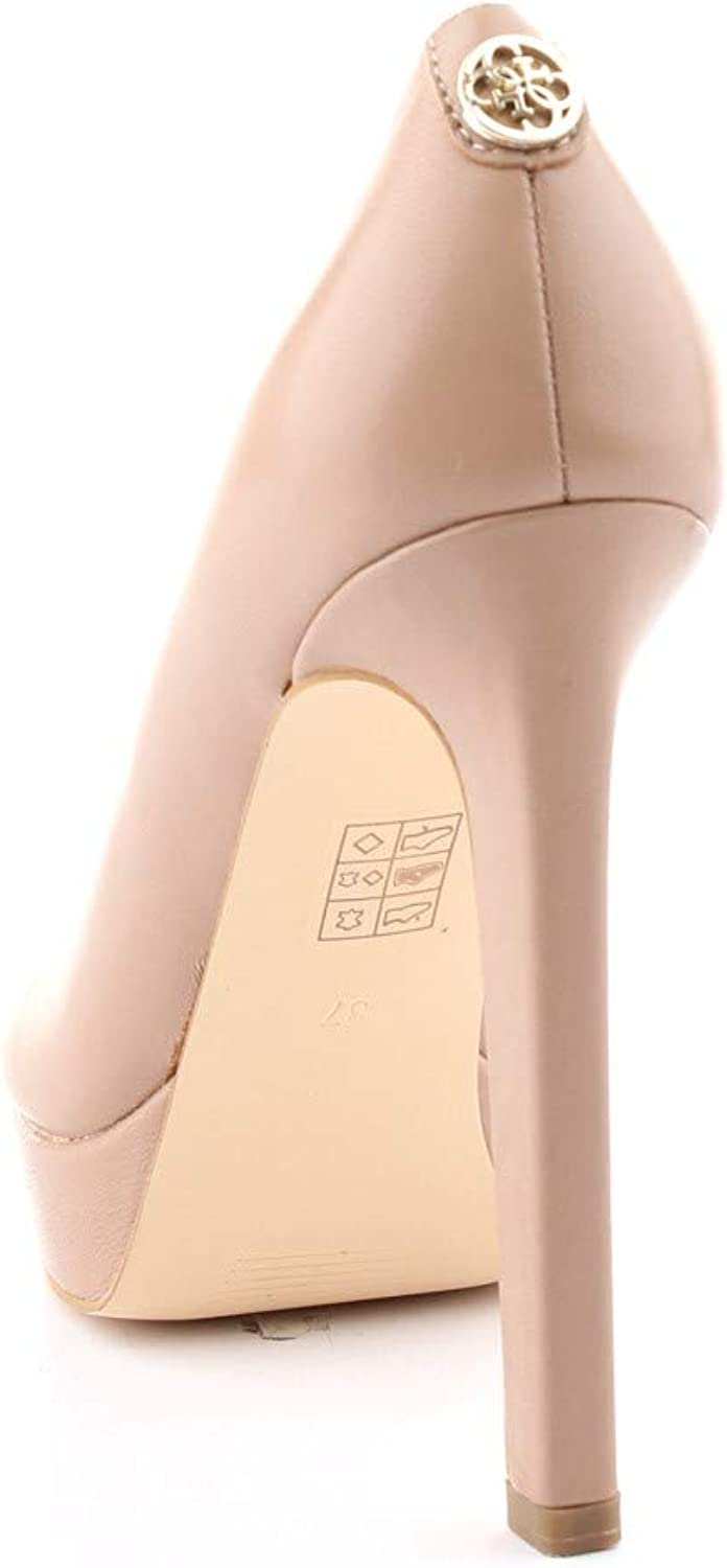 Guess FL5EID LEA08 Zapatos Mujeres Beige