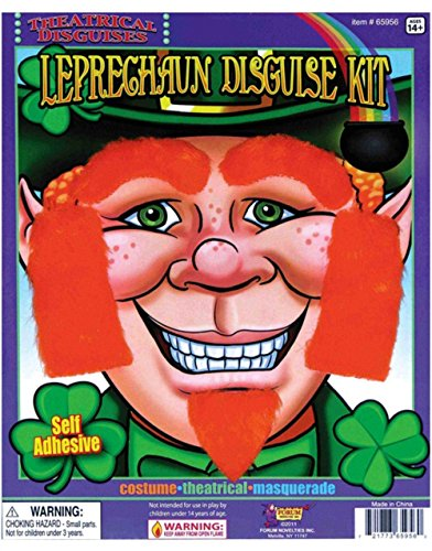 Leprechaun Disguise Kit (Leprechaun Facial Hair Disguise Kit)