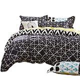 wsloftyGYd 4Pcs Flamingo Deer Home Bedding Set Bed Sheet Pillow Duvet Cover Bedclothes 4#