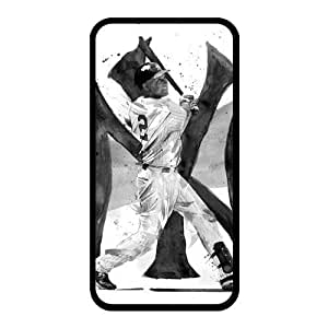 Derek Jeter Diy Iphone 4/4s hard Case,customized case UN012877 by lolosakes