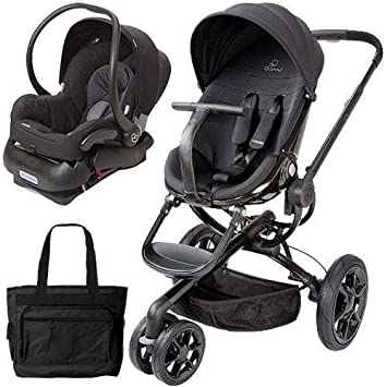 Amazon.com : Quinny Moodd Stroller Travel system with diaper bag and