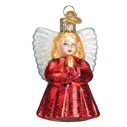 Old World Christmas Ornaments: Baby Angel Glass Blown