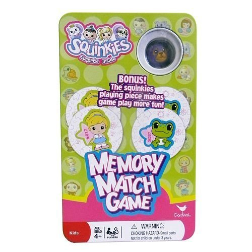 Squinkies Memory Match Storage Figure product image
