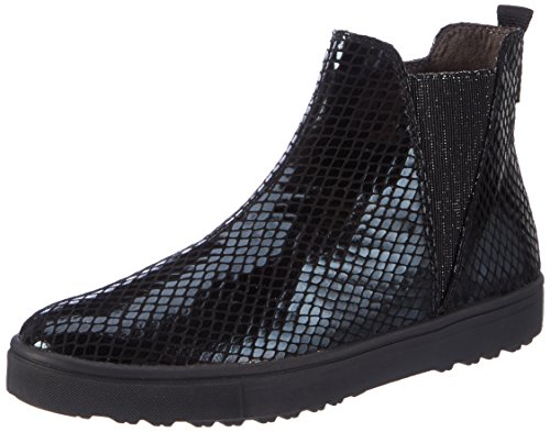Tamaris Damen 25441 Chelsea Boots Schwarz (Black Struct.)
