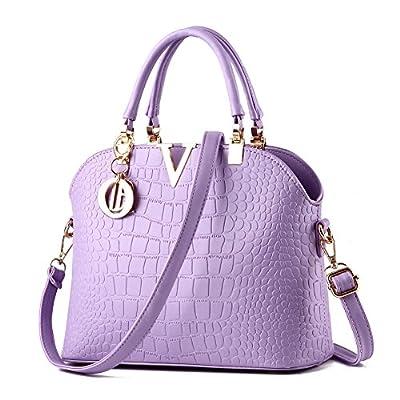 Rubysports Women Claissic Top Handle Handbag Crossbody Casual Purse Satchel Tote