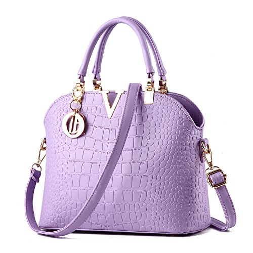 JHVYF Lovely Crossbody Bags Tote Satchel Purse for Girls Feminine Lavender ()