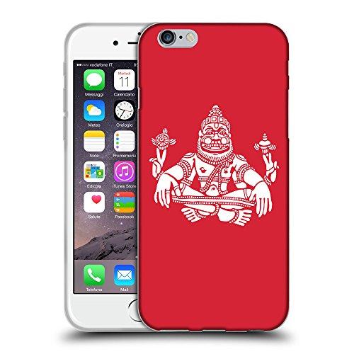 "GoGoMobile Coque de Protection TPU Silicone Case pour // Q09550601 Hindou 9 Alizarine // Apple iPhone 6 PLUS 5.5"""