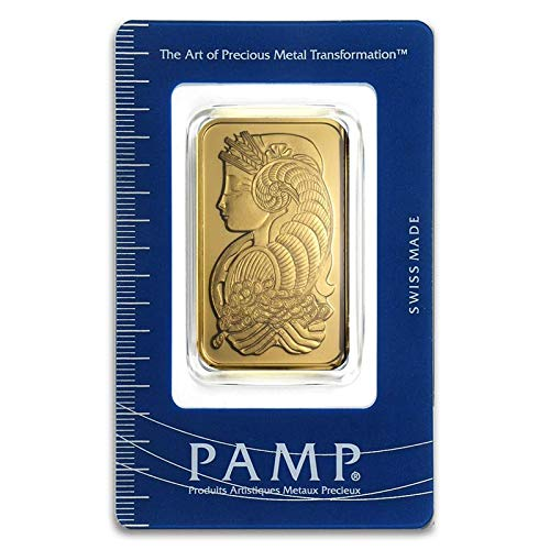 PAMP Suisse 1 oz. Gold bar w/Assay (Types Vary)