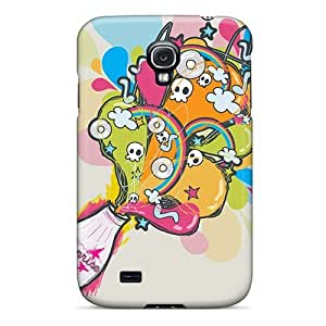 Shock-dirt Proof Bottle Ghost Case Cover For Galaxy S4