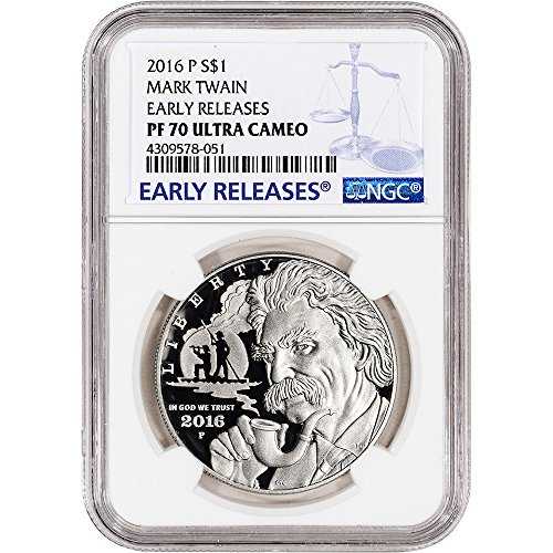 2016-p-us-commemorative-proof-silver-dollar-mark-twain-early-releases-large-label-1-pf70-ngc-ucam