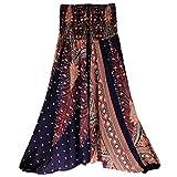 CSSD Women {Thai Harem} Trousers {Boho Aladdin} Jumpsuit {Harem Pants} {Hippy Smock} {High Waist} {Yoga} Pants (Free Size, Navy) Review