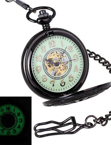 Retro Escultura volante hombres &-Glow in dark-the-marca de relojes de