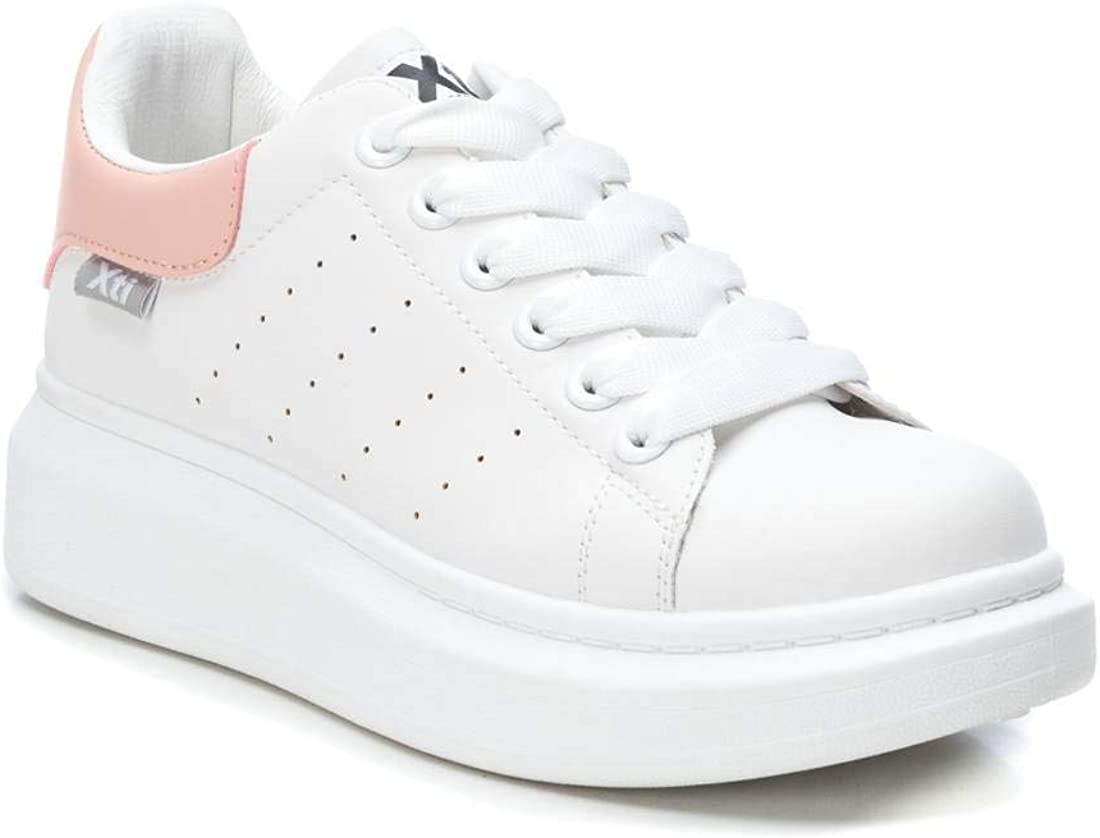 XTI 49952, Sneakers Basses Femme Rose Nude Nude